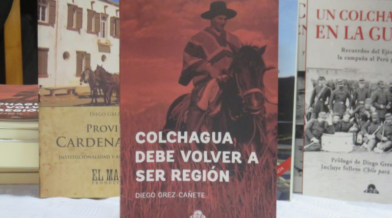 «Colchagua debe volver a ser región»: nuevo libro reafirma sentimiento regionalista de Colchagua y C. Caro