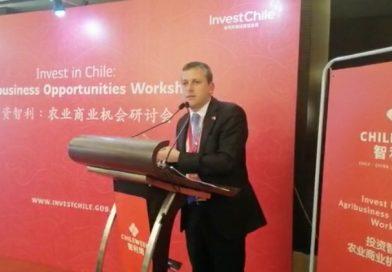Chile Week China 2018: Intendente Masferrer expone ante empresarios asiáticos las ventajas de O'Higgins para invertir