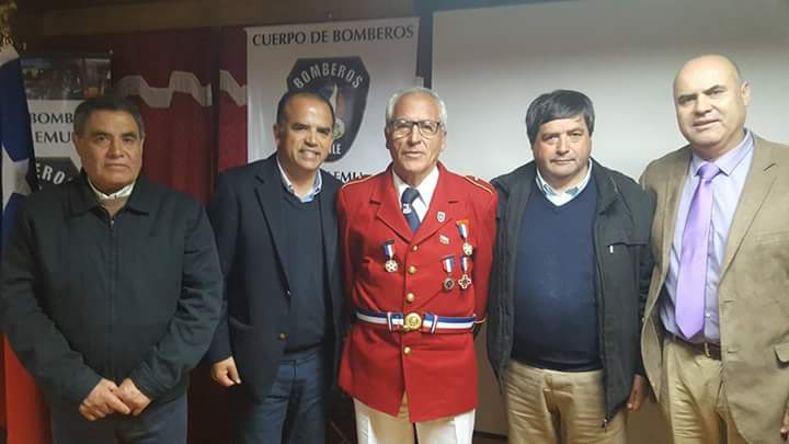 1ra. Compañia de Bomberos celebra 72 años de vida