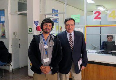 Gobernador de Cardenal Caro visita Hospital de Pichilemu