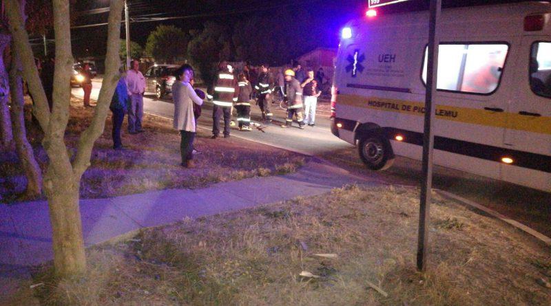 En estado de coma cadete de bomberos tras accidente de anoche