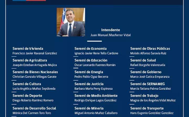 Confirmado Gabinete Regional
