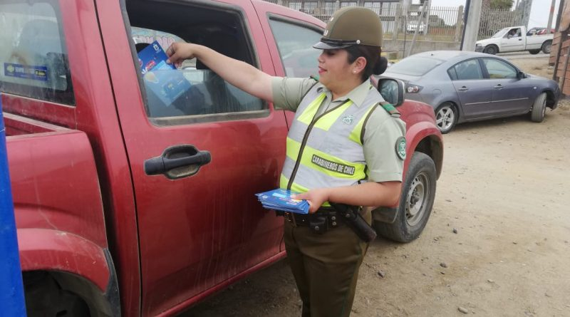 Carabineros lanza campaña para prevenir robos en vehículos