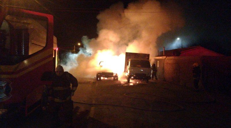 Dos camiones incendiados en Pichilemu