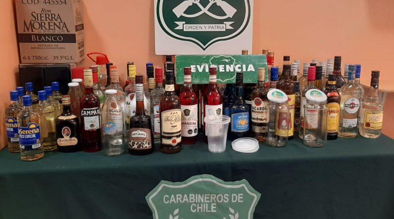 DECOMISO POR LA EXISTENCIA Y  VENTA CLANDESTINA DE LICOR SIN LA RESPECTIVA PATENTE  MUNICIPAL