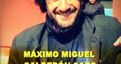 Fallece repentinamente profesor Máximo Calderón