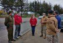 Intendenta Cofré y Jefe de la Defensa realizan fiscalización en Pichilemu por plan Paso a Paso este fin de semana