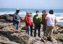 Intendenta Rebeca Cofré fiscalizó el acceso a las playas
