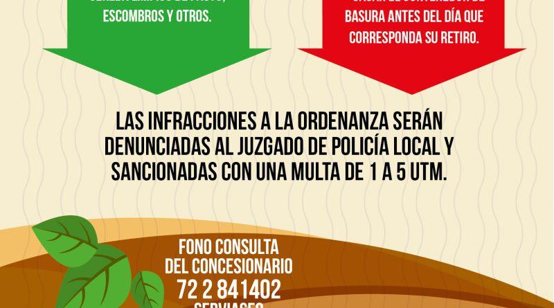Municipio refuerza campaña que beneficia a toda la comunidad