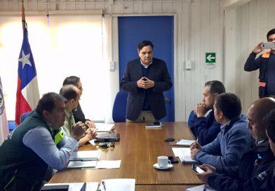 Gobernador Carlos Ortega encabezó primera reunión del COE