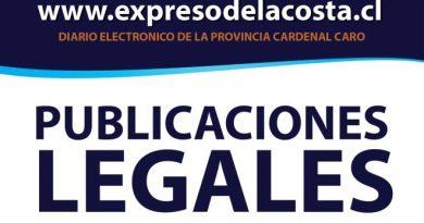 Publicaciones Legales: LIMAHUE SpA
