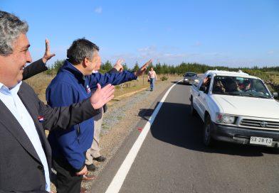 Gobierno Regional anuncia inversión de 3 mil millones de pesos para financiar proyectos de conservación de calles presentados por los municipios el año 2016