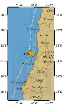 Tranquilidad en Pichilemu por fuerte sismo en Valparaiso