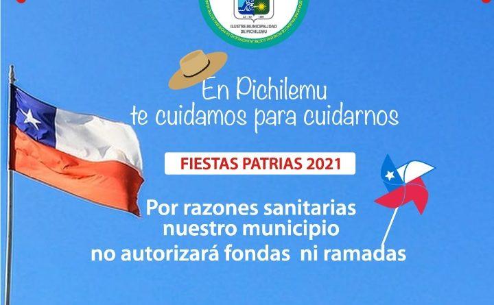 Municipio de Pichilemu confirma que que no habrán fondas
