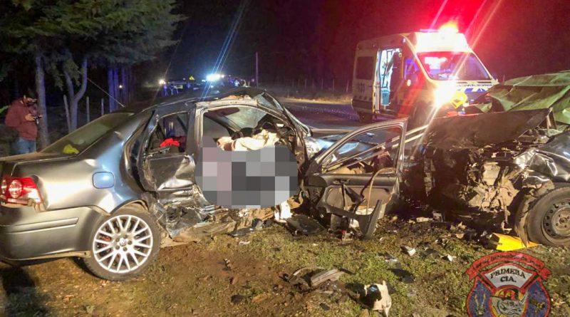 Trágico accidente deja 3 personas fallecidas